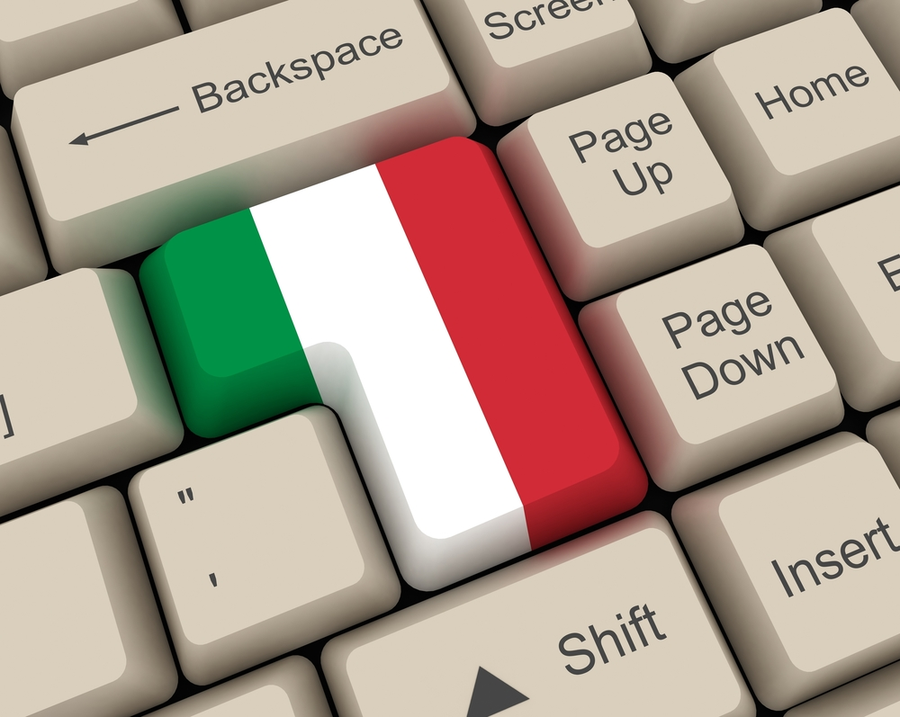 Italy keyboard tech europe © alpimages Shutterstock