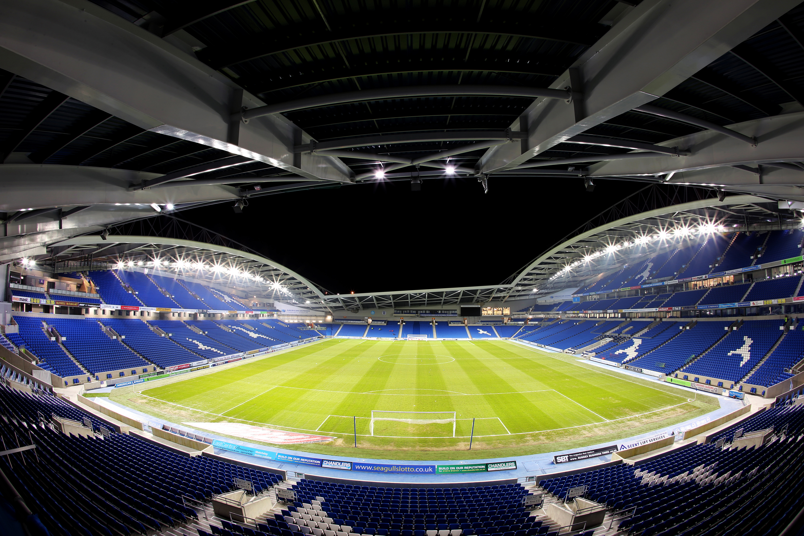 Brighton & Hove Albion Fans Get Free Wi-Fi At The Amex