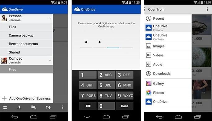 Microsoft OneDrive Android App Now Manages Personal And