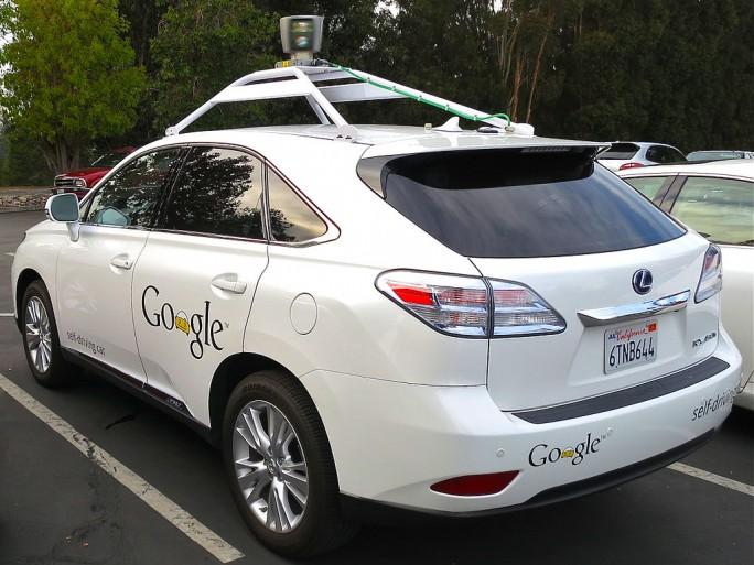 google lexus driverless car