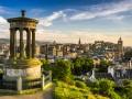 Edinburgh, capital city of Scotland