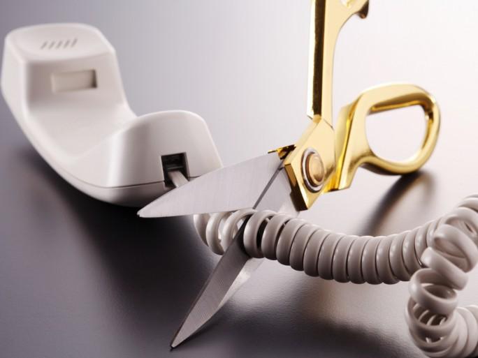 cutting landline