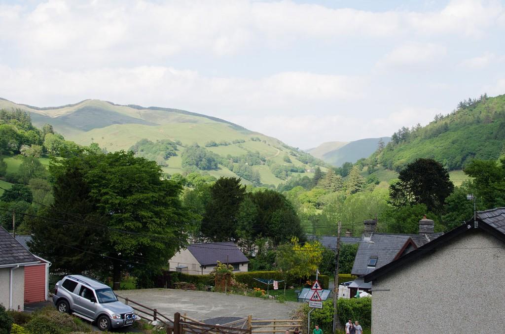 Dinas Mawddwy Wales
