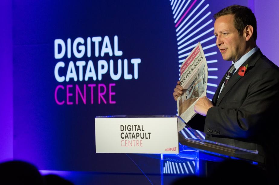 Ed Vaizey Digital Catapult Centre Apple Amazon Deny Data