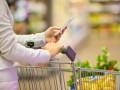 supermarket on phone