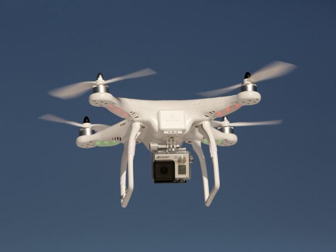 gopro drone ©Keith Muratori / Shutterstock.com