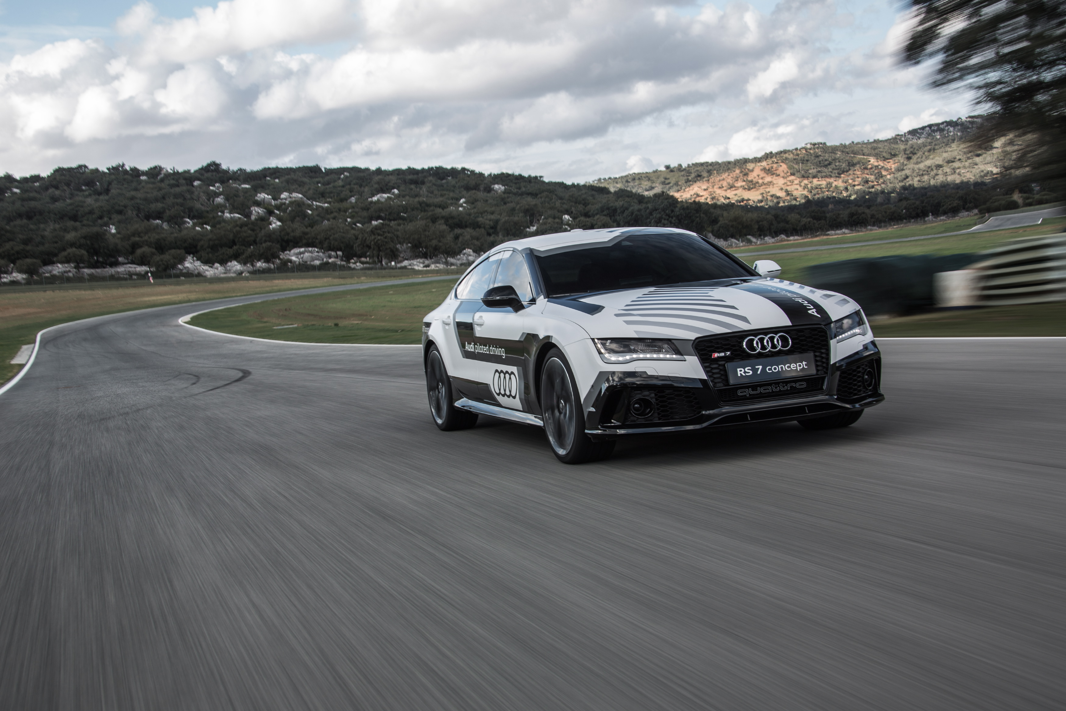 Audi Piloted Driving >> Say Hello To Bobby Audi S Self Aware Car Of The Future