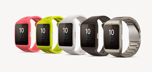 Sony SmartWatch3 colour rangecropped