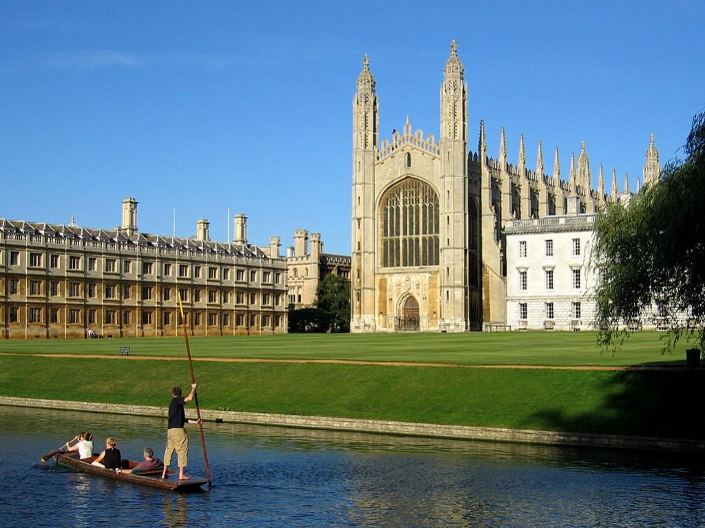 University of Cambridge KingsCollegeChapelWest