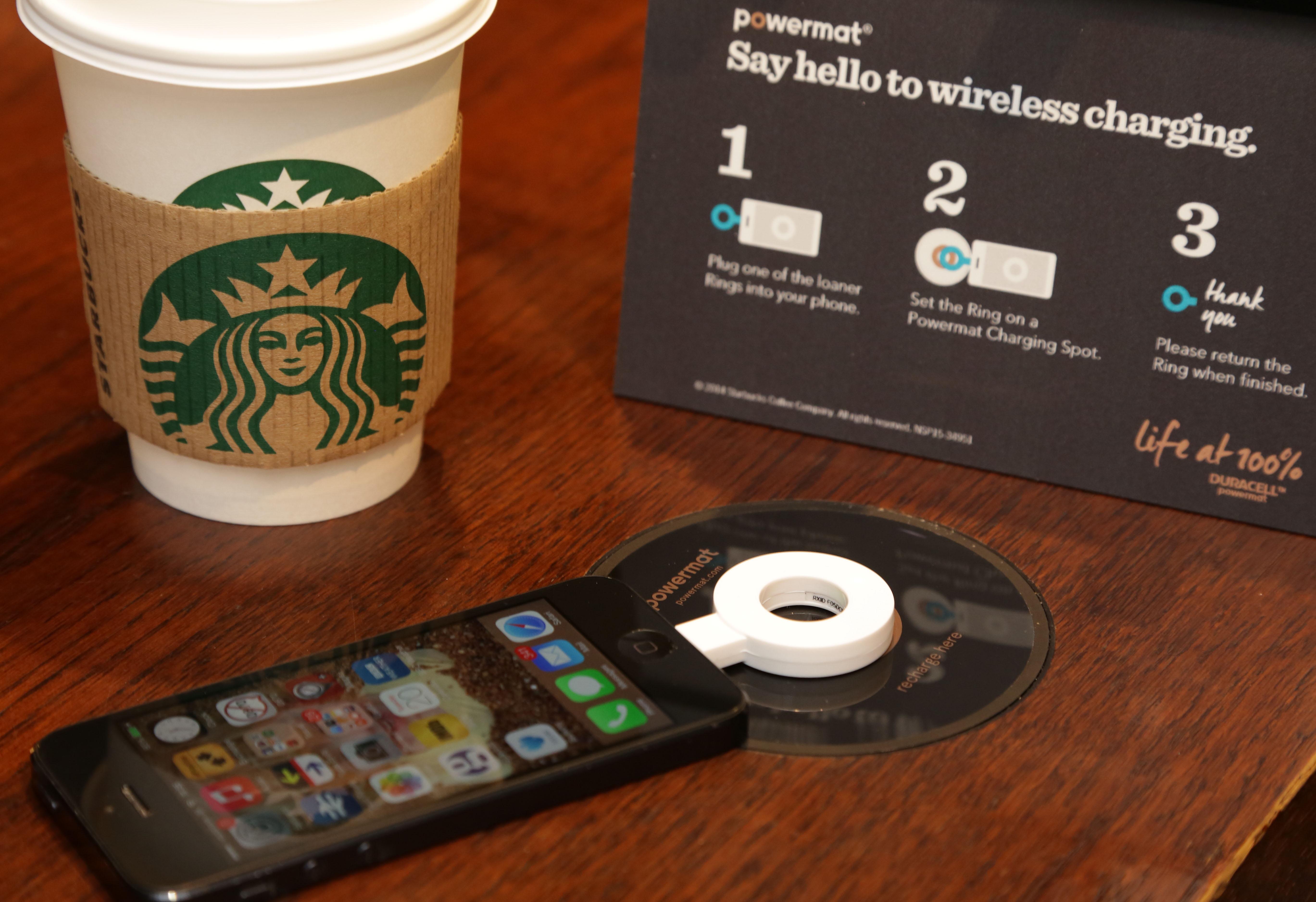 Starbucks Brings Wireless Charging To Uk Stores