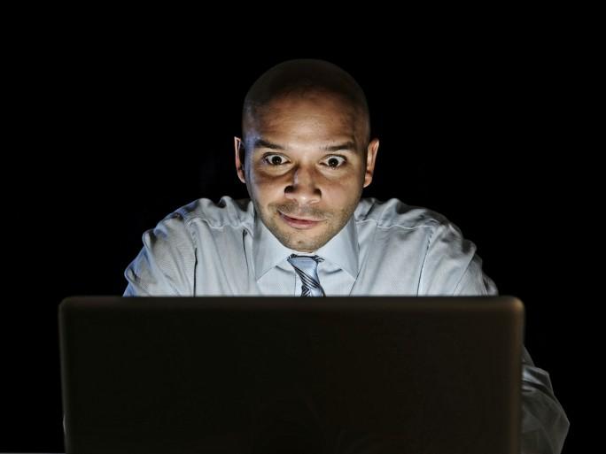watching porn laptop