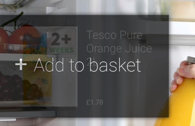 tesco google glass app glassware