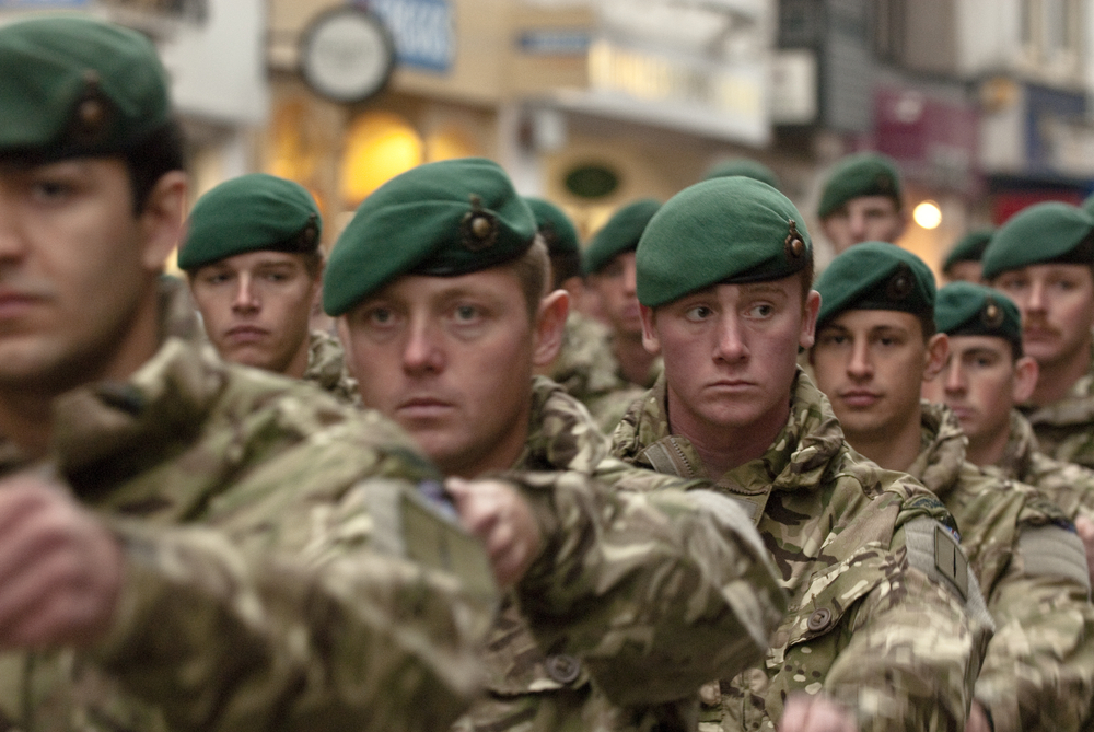 Are military veterans the answer to the uk skills gap - Royal marines recruitment office ...