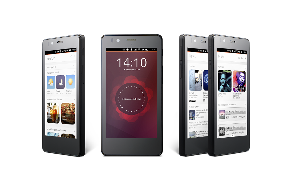 Canonical Ubuntu Mobile BQ Hero 4