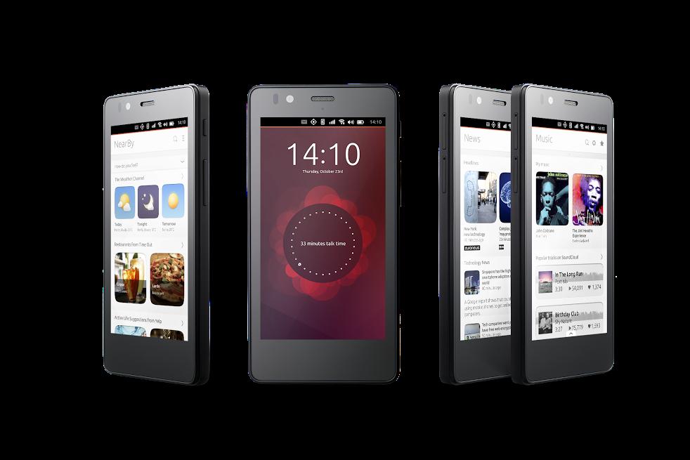 Canonical Ubuntu Mobile BQ Hero 4