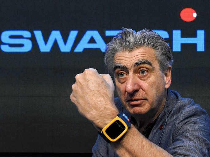 mark hayek swatch ©getty images