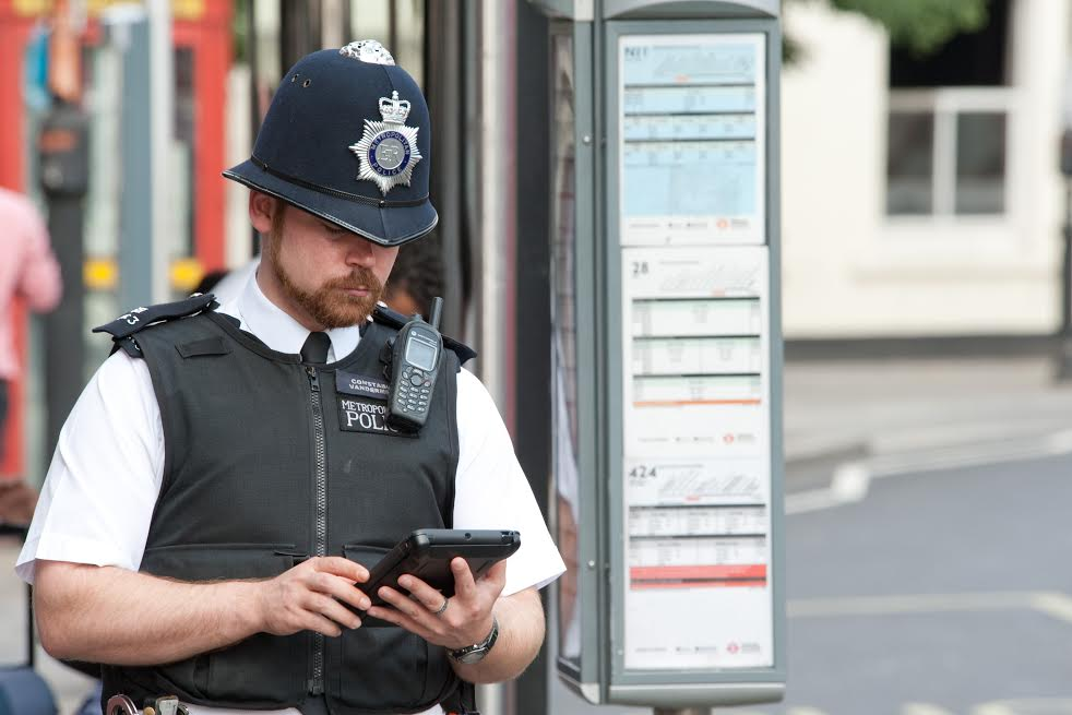 Vodafone Met Police Tablet 2