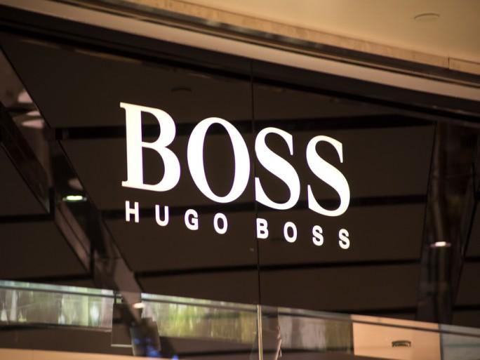 hugo boss store logo