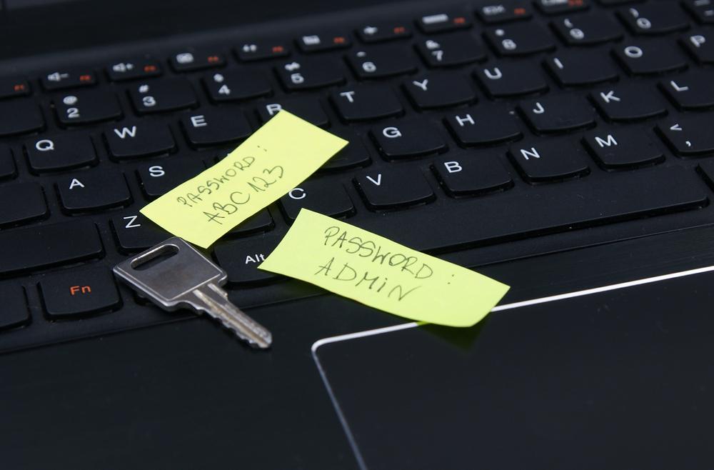 weak password security