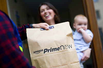 UNP: Amazon Prime Now launched in London, UK