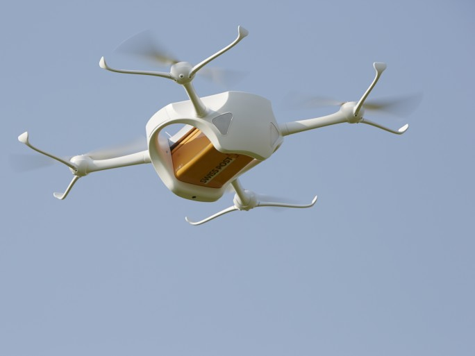 swiss post drone