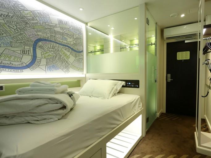 hub hotel room