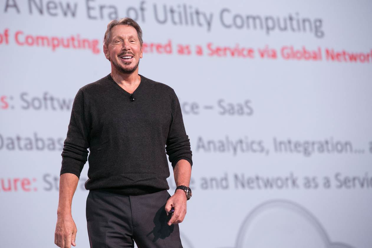 larry_ellison oracle open world keynote