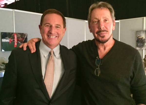 larry ellison mark hurd oracle