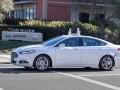 Ford Autonomous car test