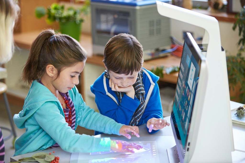 HP Sprout Pro classroom