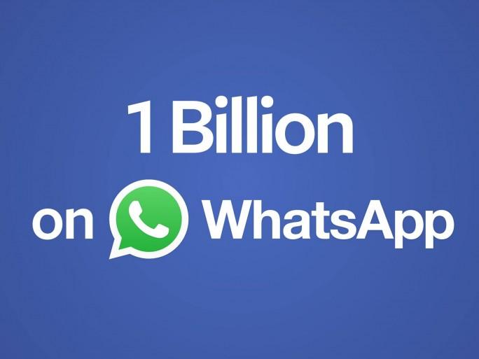 whatsapp billion