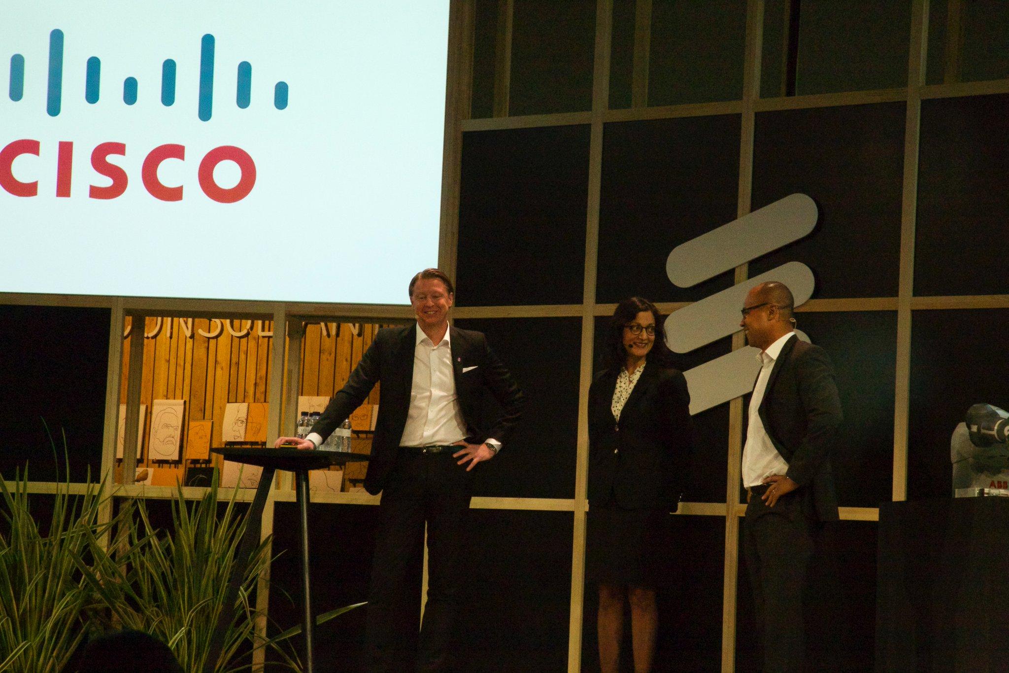 Ericsson Cisco MWC 2016
