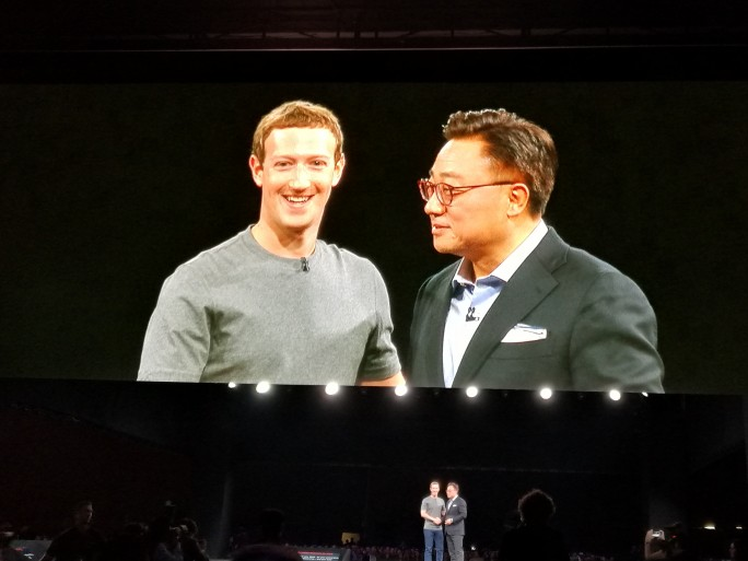 mark zuckererg dj koh samsung facebook