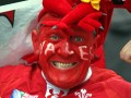 Wales fan at RBS 6 Nations