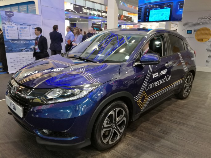 Visa connected car MWC 2016