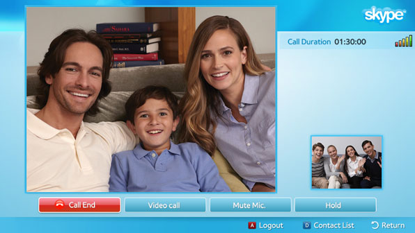 Skype Ends Support For Smart TV Applications