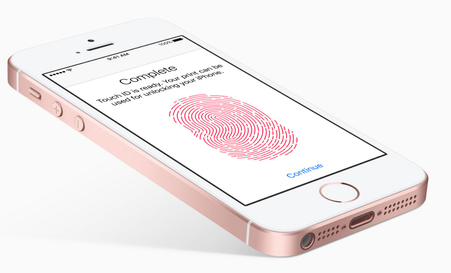 iPhone SE TouchID