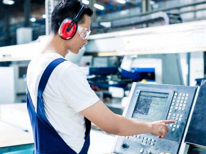 factory floor worker
