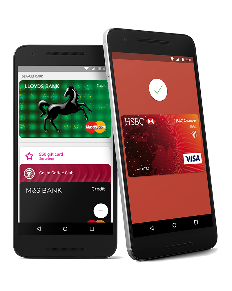 Android Pay Adopted By Santander, NatWest, RBS And Ulster