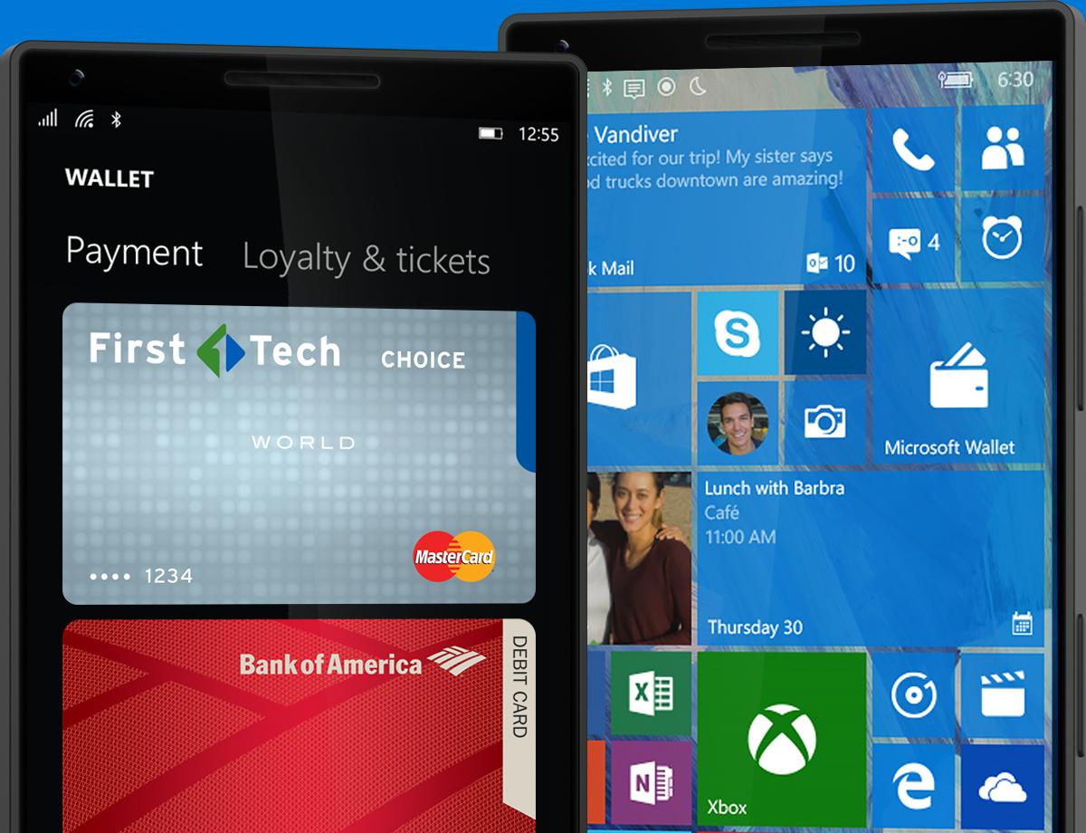 Windows 10 Microsoft Wallet 3