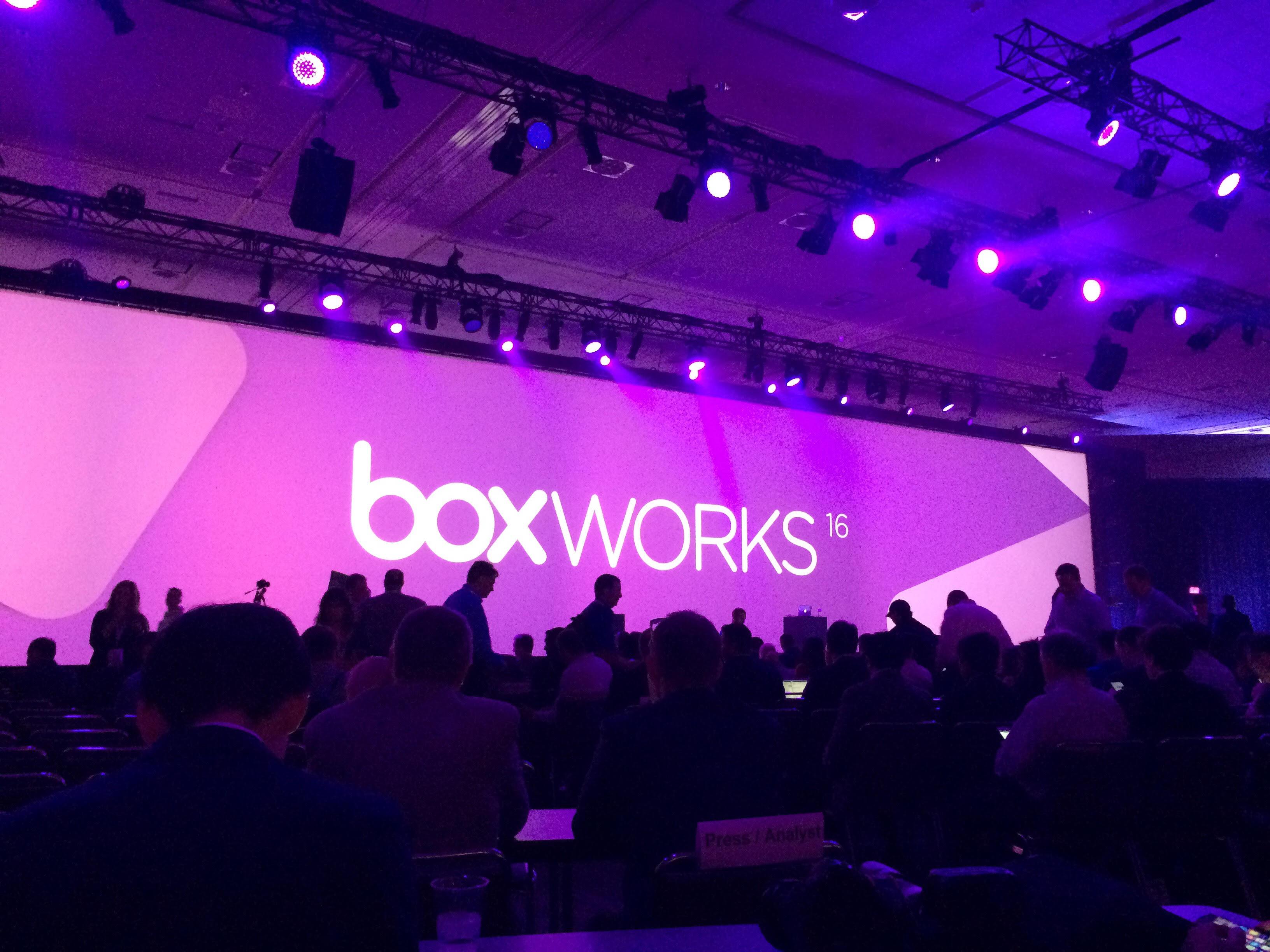 BoxWorks 2016 1