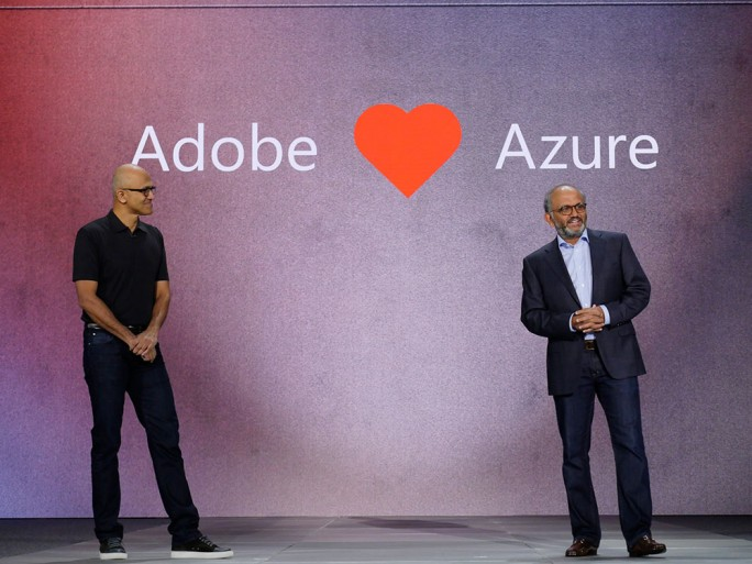 Satya Nadella, Adobe, Azure, Ignite, data, open data