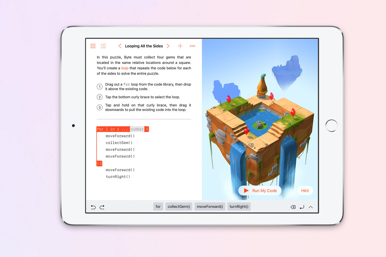 Apple Releases Swift Playgrounds To Teach Kids Coding On