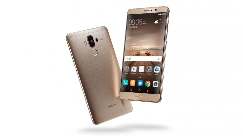 Huawei's Mate 9 flagship smartphone.