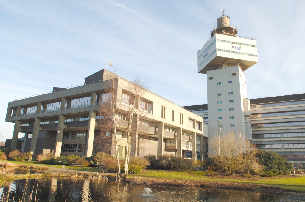 Adastral Park, in Martlesham, Ipswich - the epicentre of BT's research, technology and IT operations.  Enquiries about this image can be made to the BT Group Newsroom on its 24-hour number: 020 7356 5369.  From outside the UK, dial +44 20 7356.5369.  News releases and images can be accessed at the BT web site: http://www.bt.com/newscentre.   Mandatory credit: VisMedia