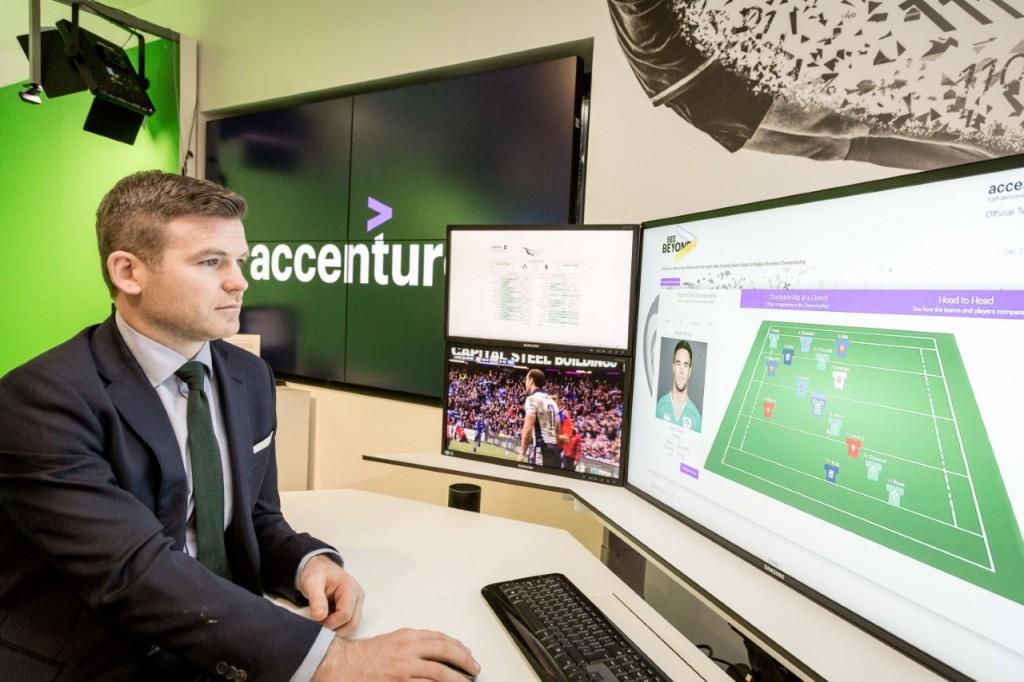 Accenture 6 Nations Gordon D'Arcy