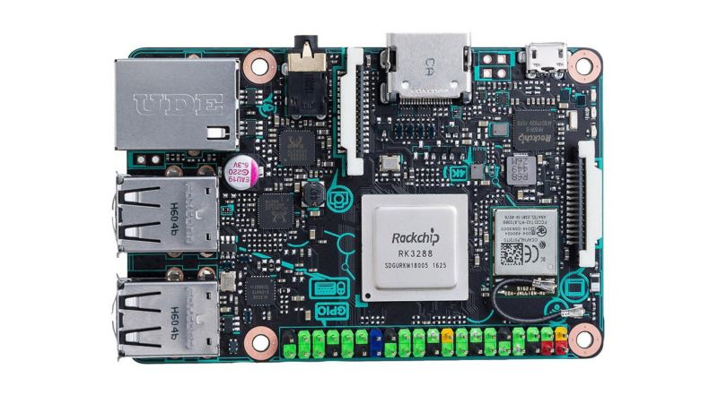 Asus Tinker Board side