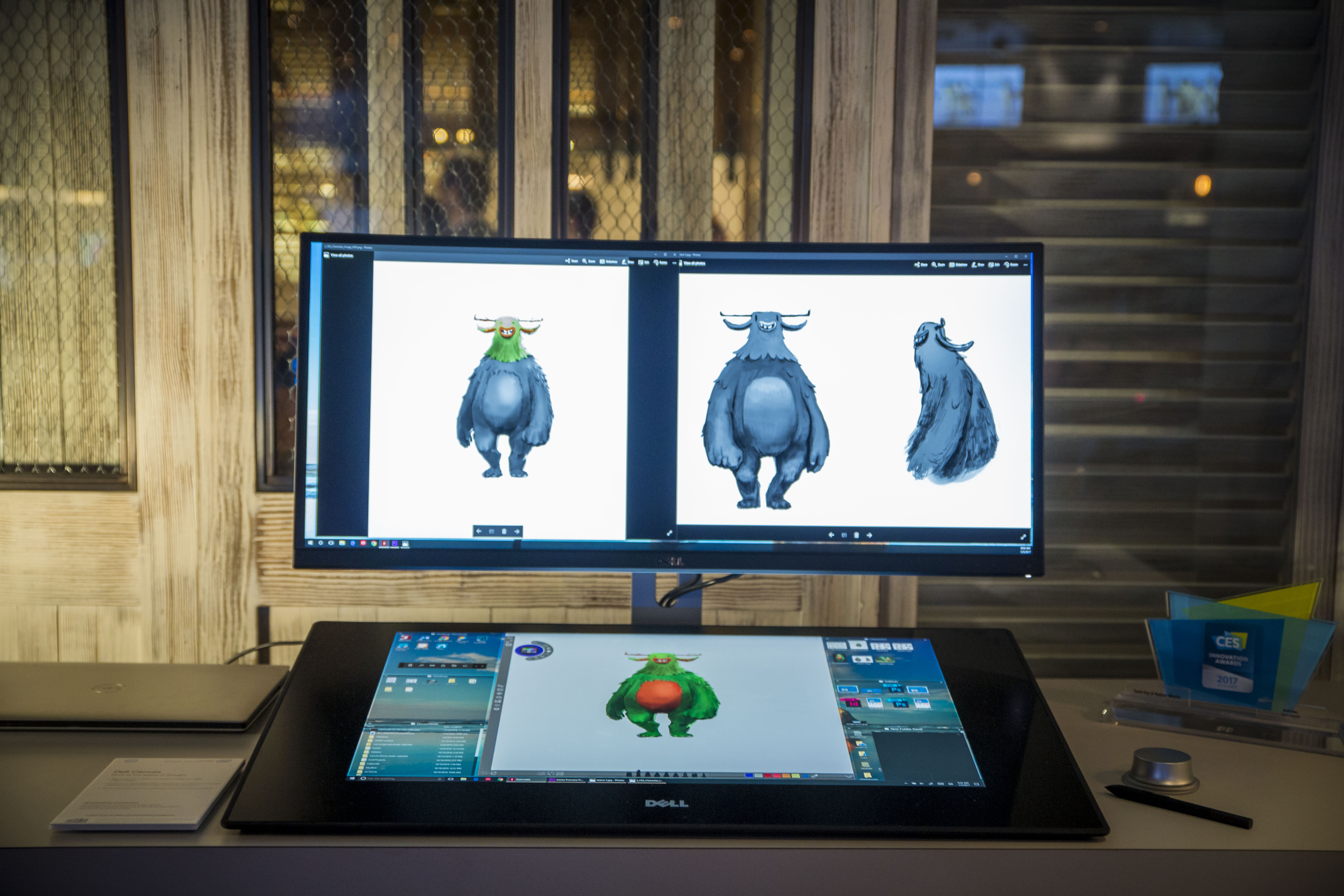 Dell Introduces Canvas 27in Touchscreen Display As