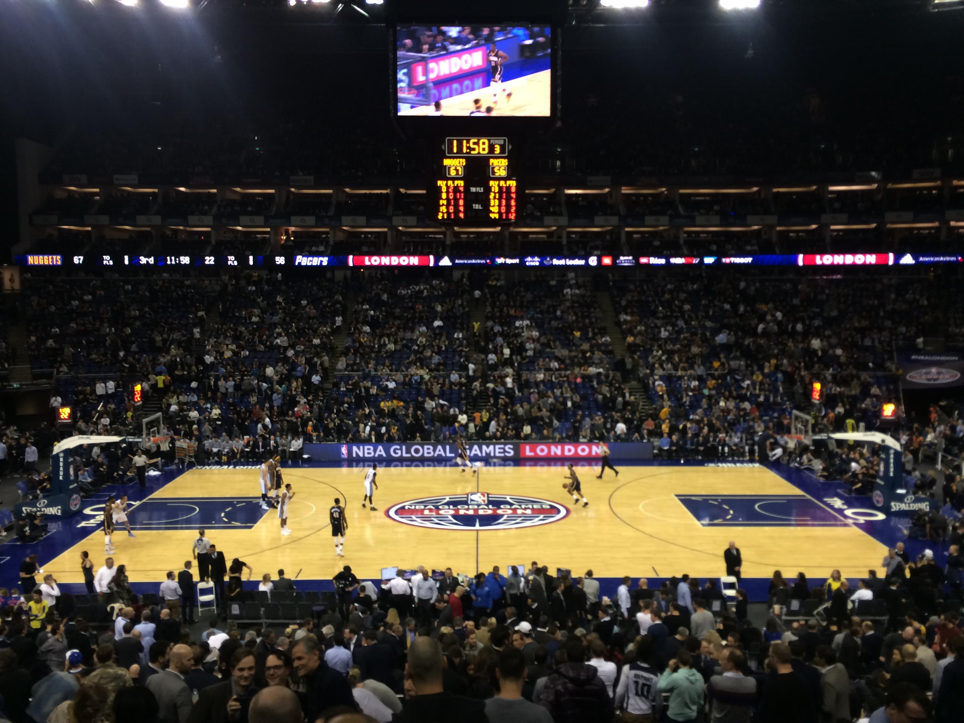 NBA Basketball London 2