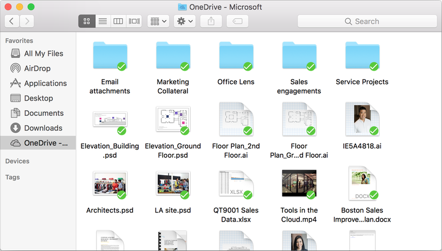 OneDrive Mac